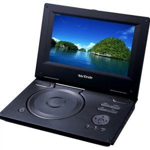 """Reproductor DVD + TDT portátil con pantalla TFT de 9"""" y USB - MX-DVD8352"""