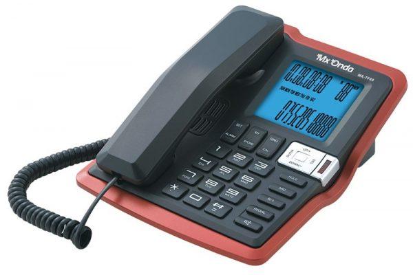 Teléfono de sobremesa con identificador de llamadas