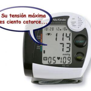 TENSIÓMETRO DIGITAL DE MUÑECA CON LOCUCIÓN