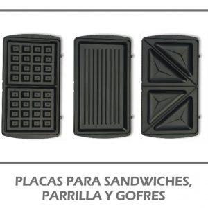 Sandwichera/parrilla/gofrera