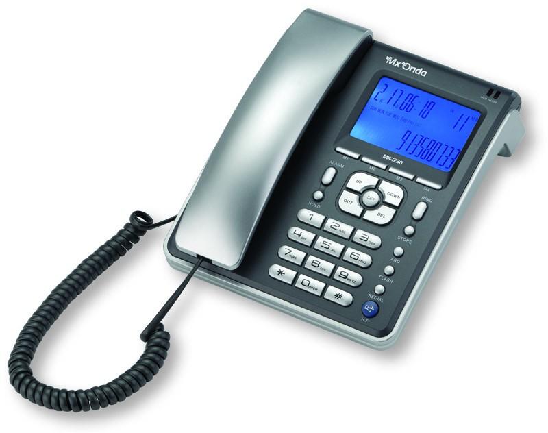 TELÉFONO DE SOBREMESA CONIDENTIFICADOR DE LLAMADAS