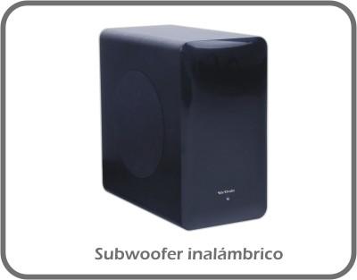 Barra de sonido estéreo con Bluetooth